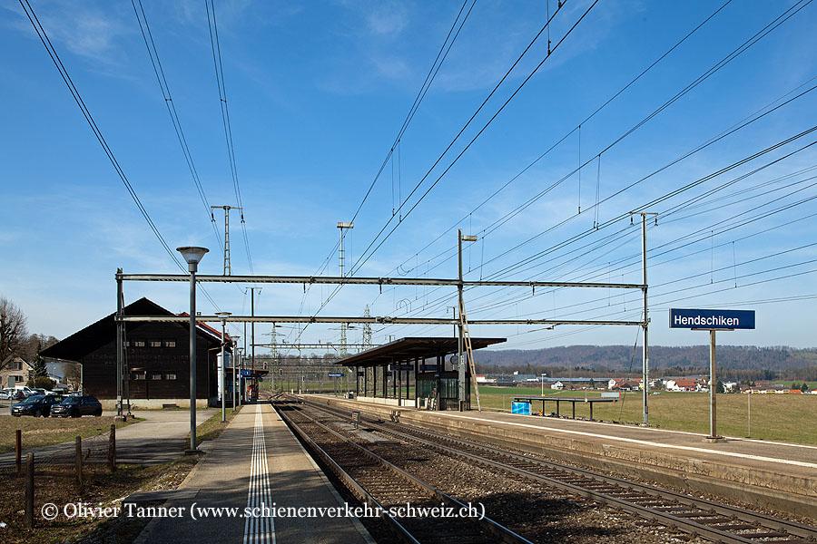 """Bahnhof """"Hendschiken"""""""
