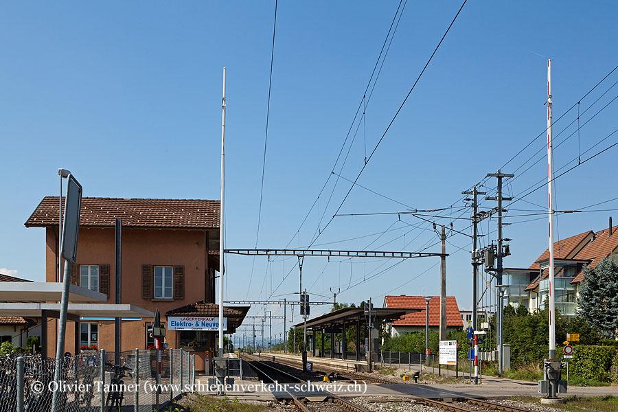 """Bahnhof """"Henggart"""""""