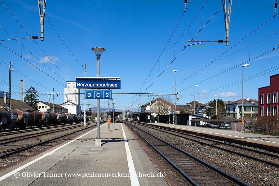 """Bahnhof """"Herzogenbuchsee"""""""