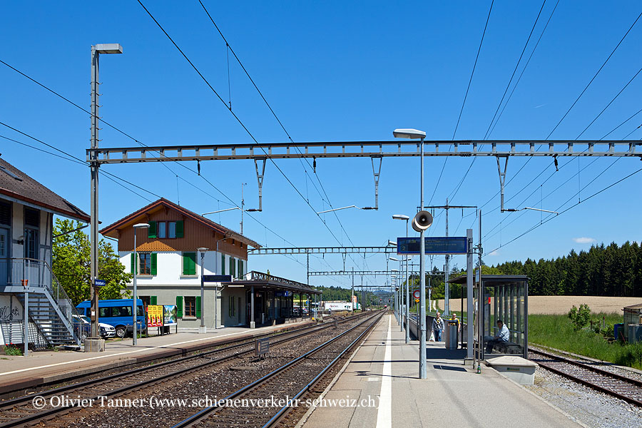 "Bahnhof ""Hindelbank"""