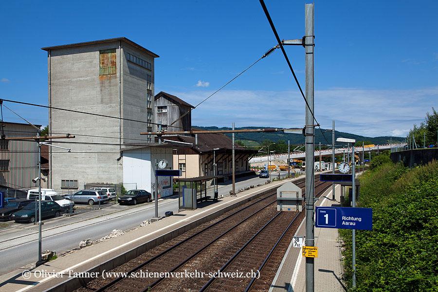 """Bahnhof """"Holderbank AG"""""""