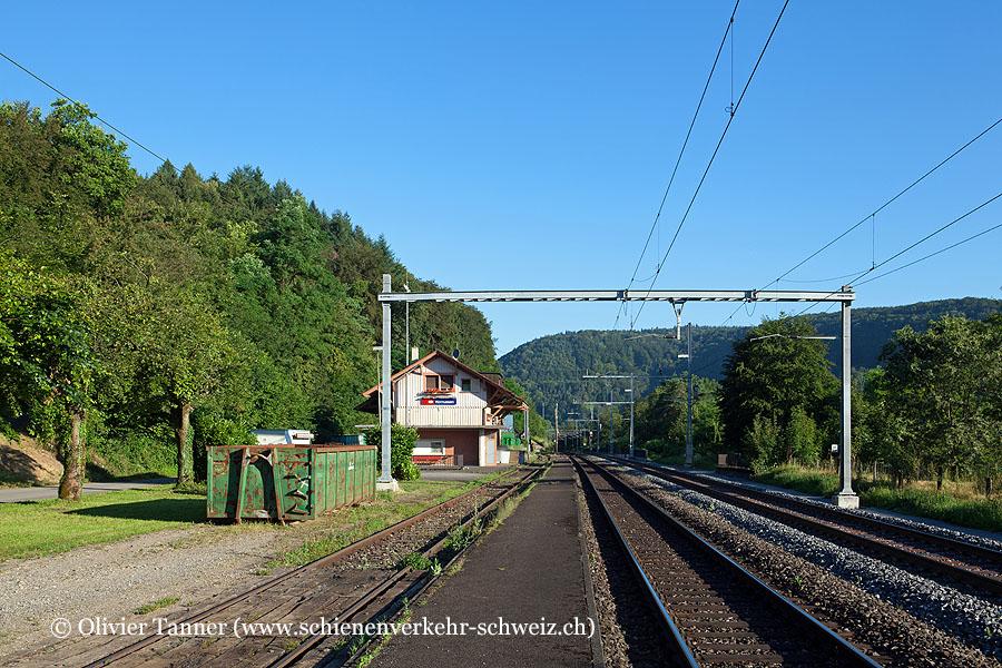 """Bahnhof """"Hornussen"""""""