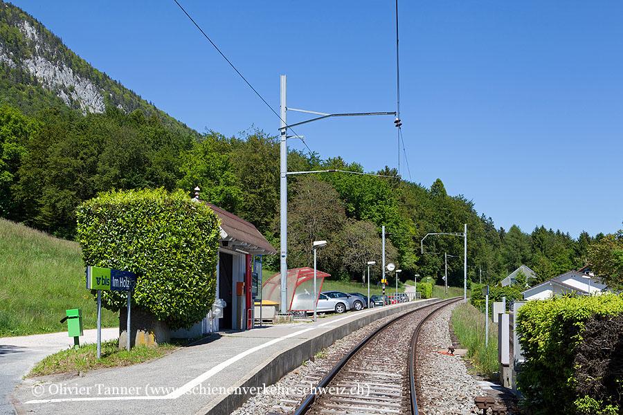 "Bahnhof ""Im Holz"""