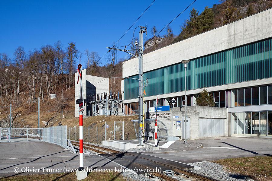 """Bahnhof """"Innertkirchen Unterwasser"""""""