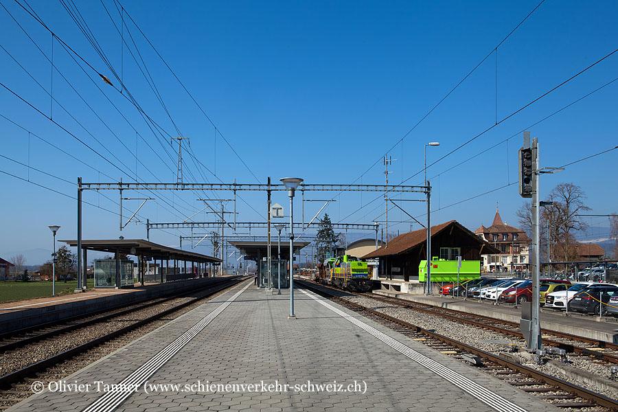 "Bahnhof ""Ins"""