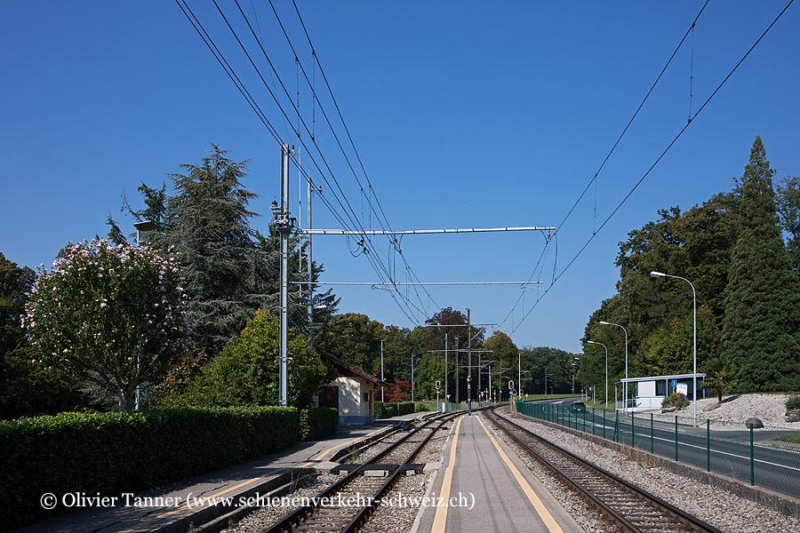 """Bahnhof """"Jouxtens-Mézery"""""""