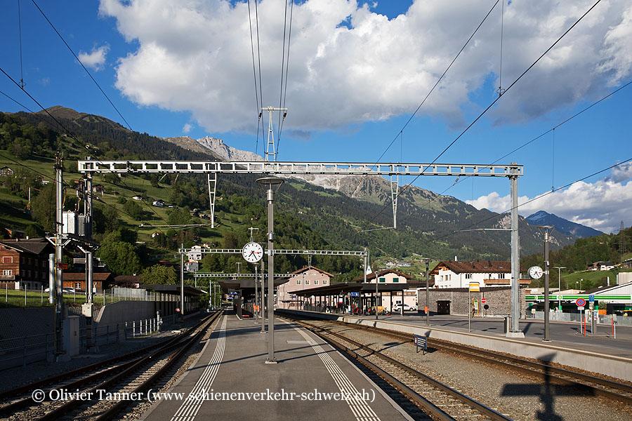 "Bahnhof ""Küblis"""
