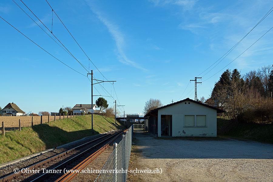 """Bahnhof """"Küttigkofen-Kräiligen"""""""