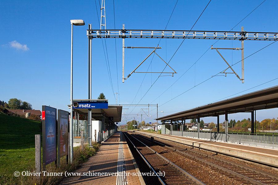 """Bahnhof """"Kehrsatz Nord"""""""