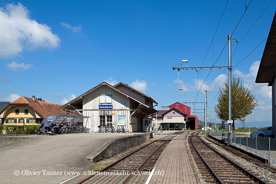 """Bahnhof """"Kleindietwil"""""""