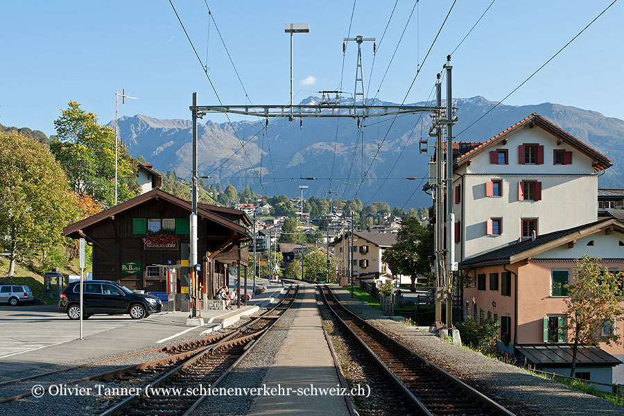 "Bahnhof ""Klosters Dorf"""