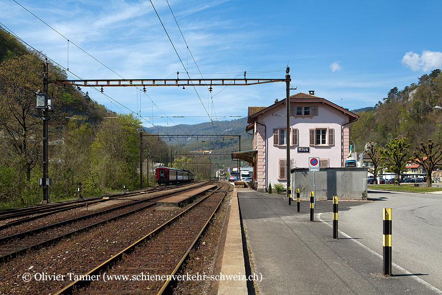 "Bahnhof ""Klus"""