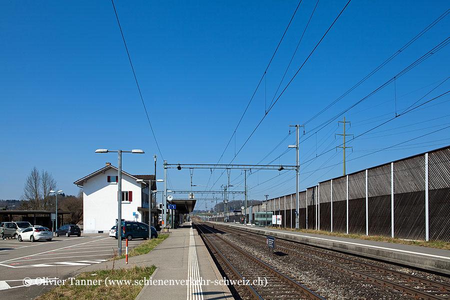 """Bahnhof """"Knonau"""""""
