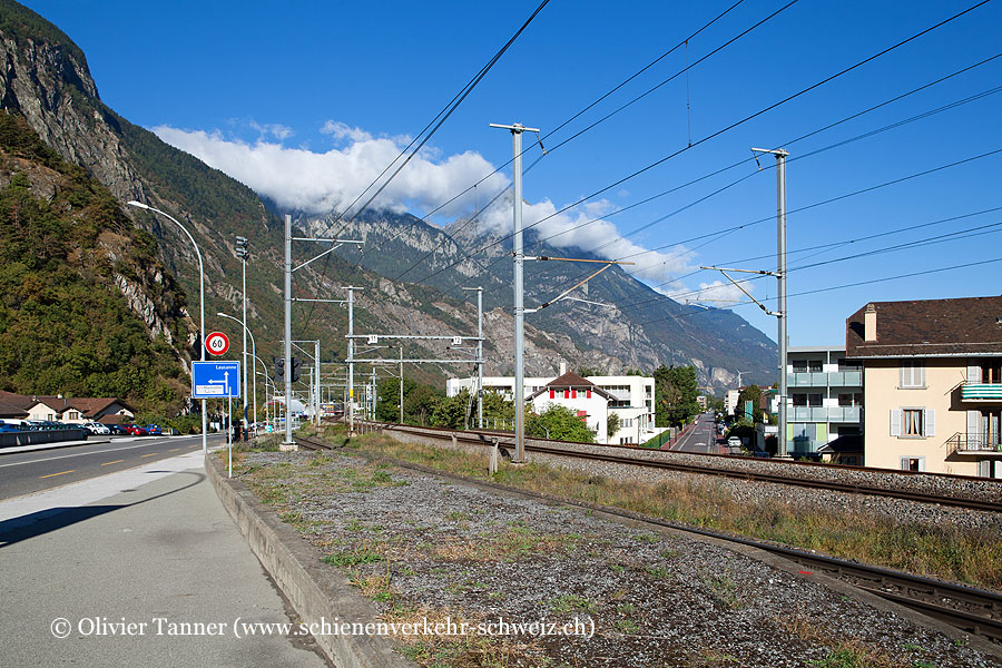 """Bahnhof """"La Bâtiaz"""""""