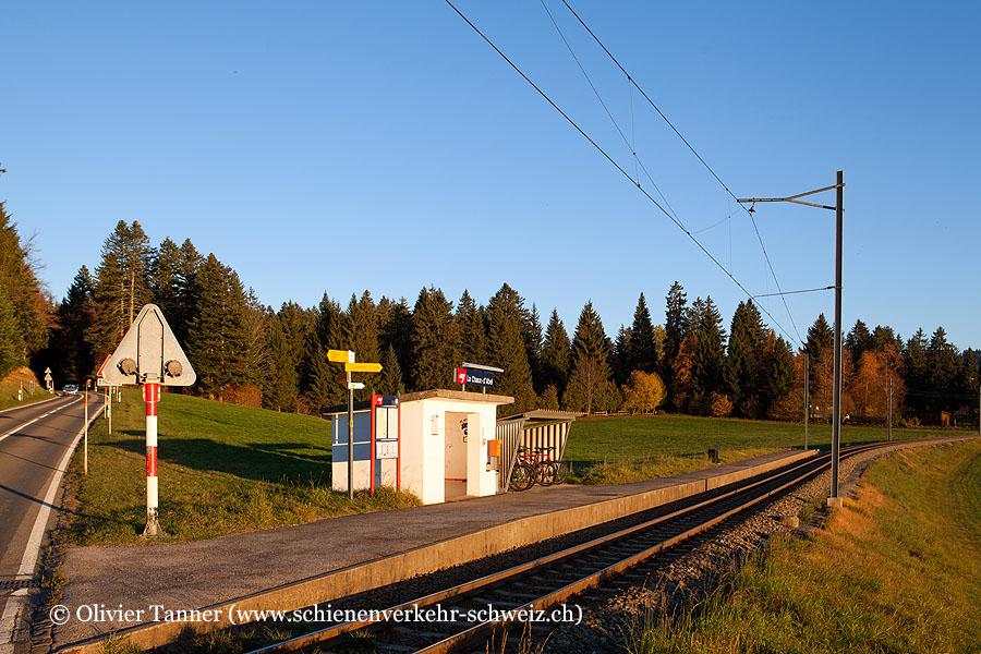 """Bahnhof """"La Chaux-d'Abel"""""""
