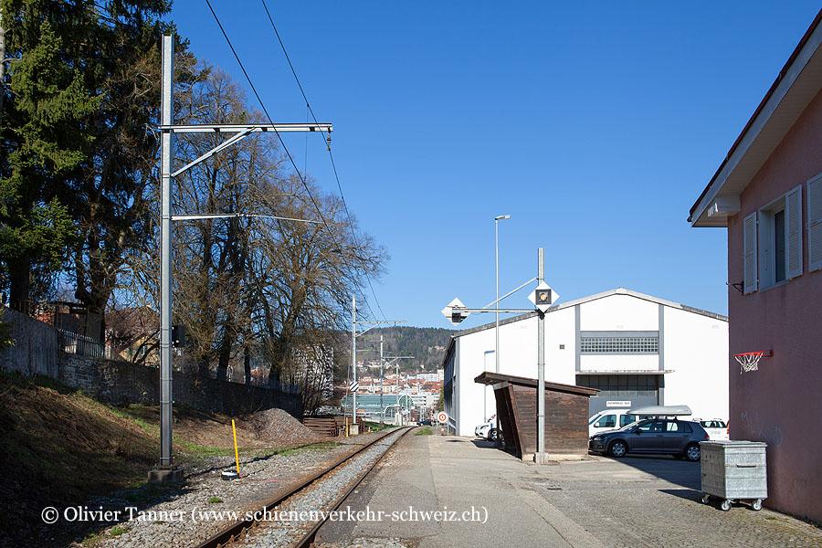"Bahnhof ""La Chaux-de-Fonds-Grenier"""