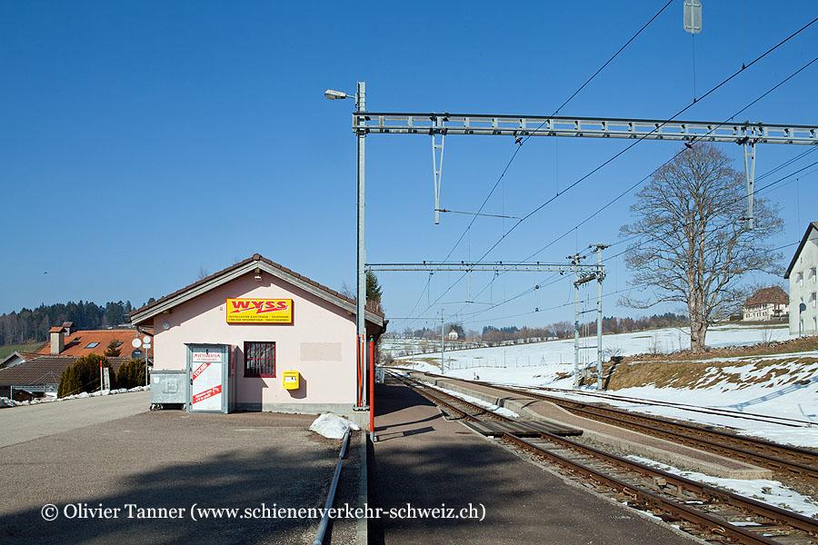 """Bahnhof """"La Cibourg"""""""