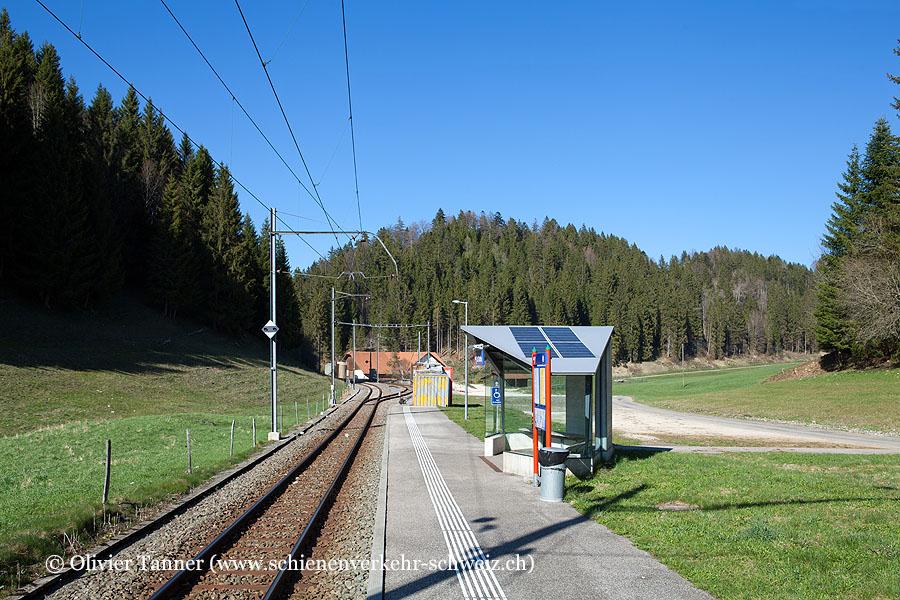 """Bahnhof """"La Combe"""""""
