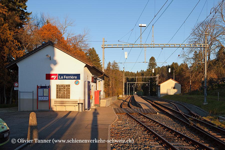 "Bahnhof ""La Ferrière"""