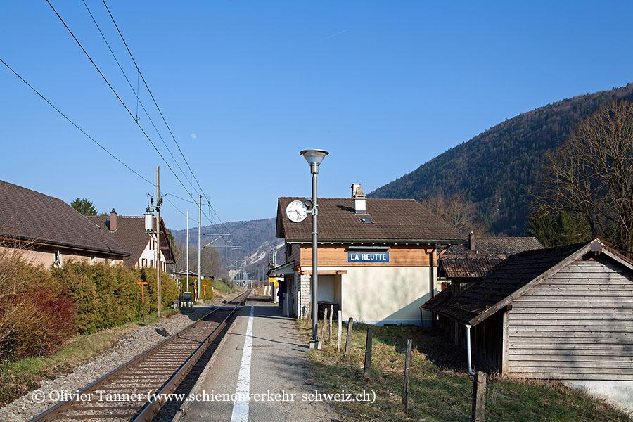 """Bahnhof """"La Heutte"""""""