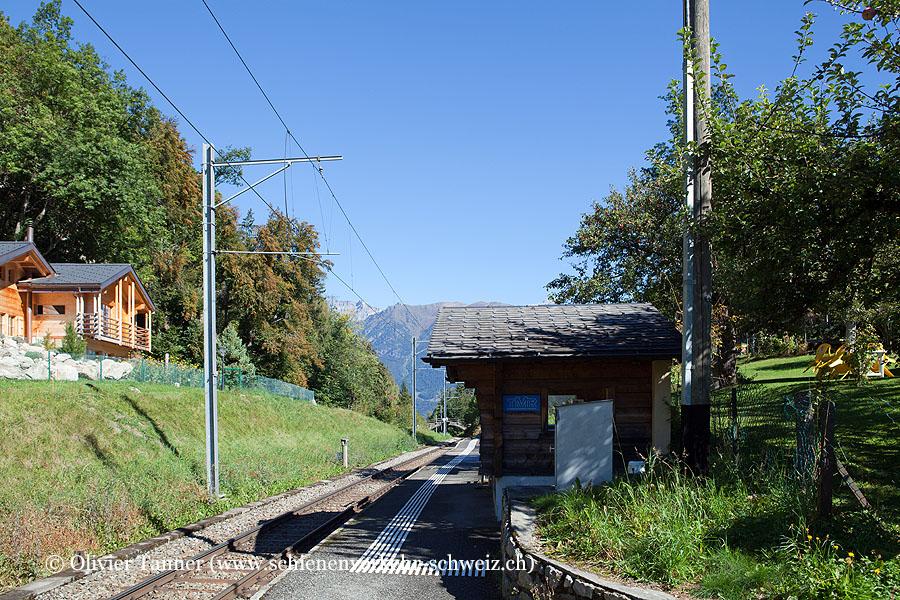 """Bahnhof """"La Médettaz"""""""