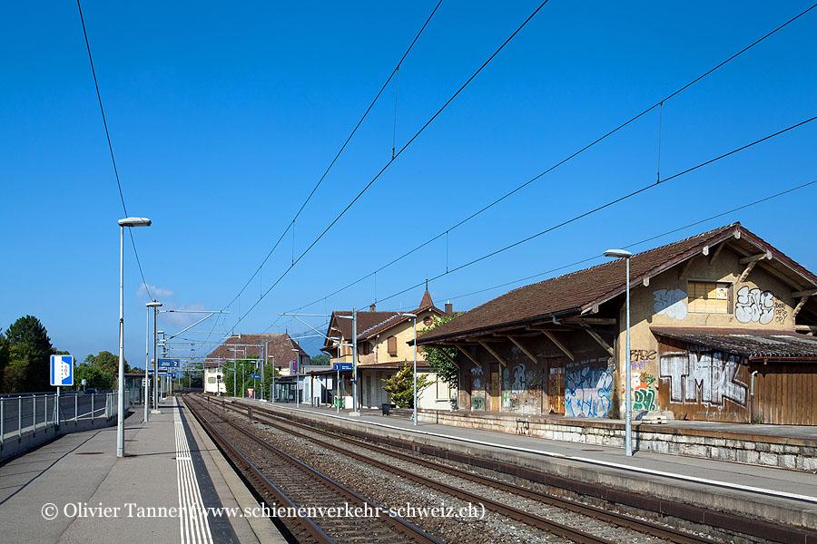 "Bahnhof ""La Neuveville"""