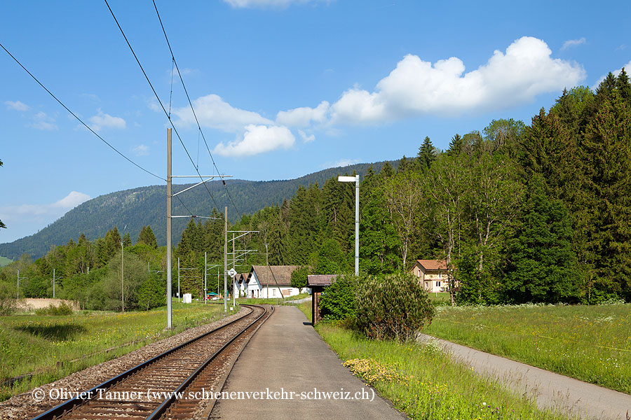 "Bahnhof ""La Presta Mines d'asphalte"""