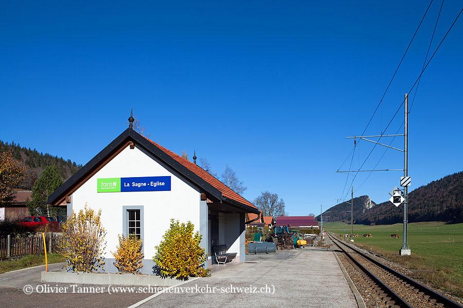 "Bahnhof ""La Sagne-Eglise"""