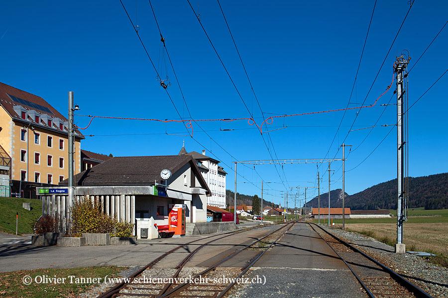 "Bahnhof ""La Sagne"""