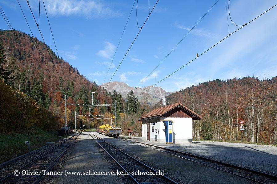 """Bahnhof """"La Tine"""""""