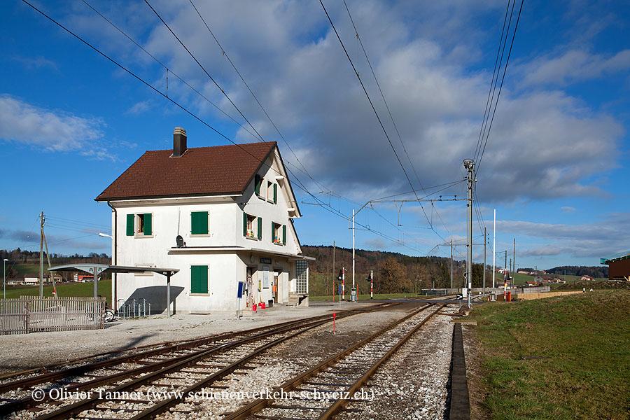 "Bahnhof ""La Verrerie"""