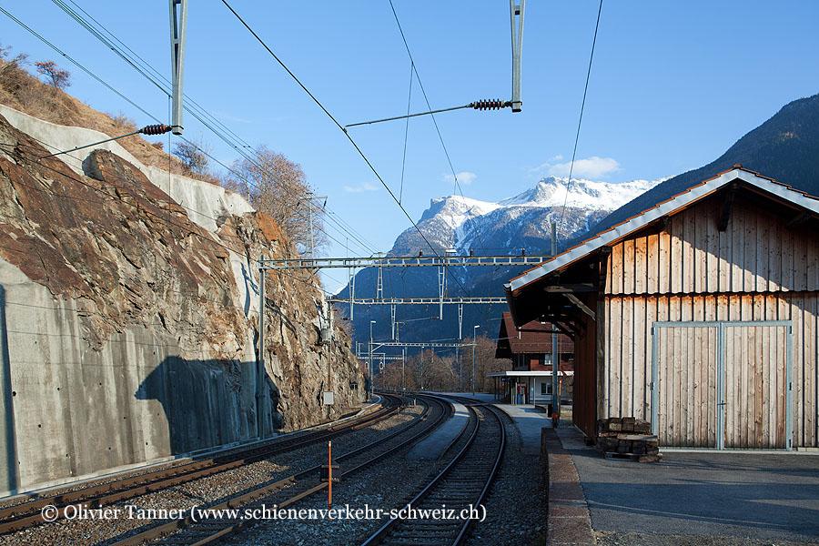 """Bahnhof """"Lalden"""""""