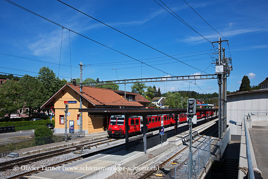 "Bahnhof ""Langnau-Gattikon"""
