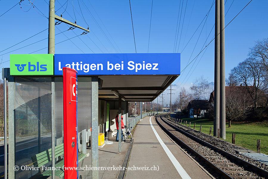 """Bahnhof """"Lattigen bei Spiez"""""""