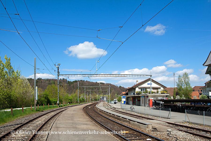 """Bahnhof """"Laupen BE"""""""
