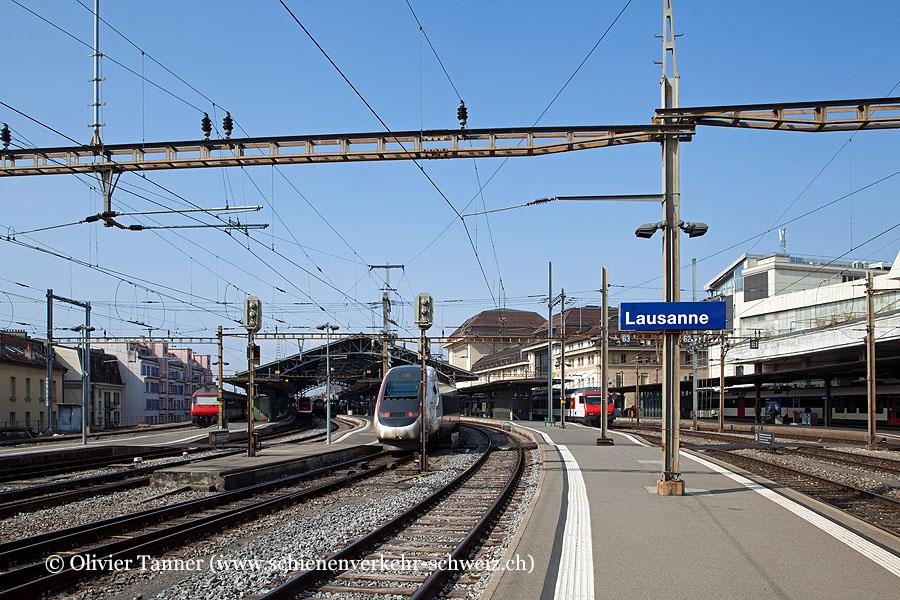 """Bahnhof """"Lausanne"""""""