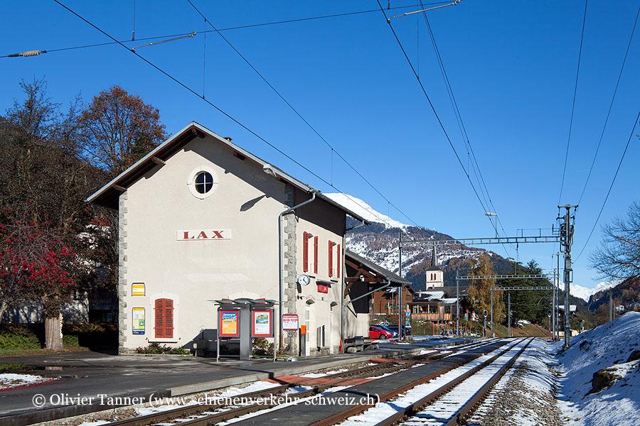 "Bahnhof ""Lax"""