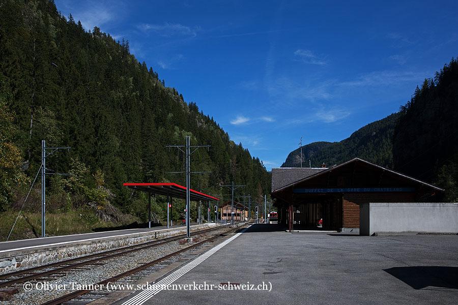 """Bahnhof """"Le Châtelard-Frontière"""""""