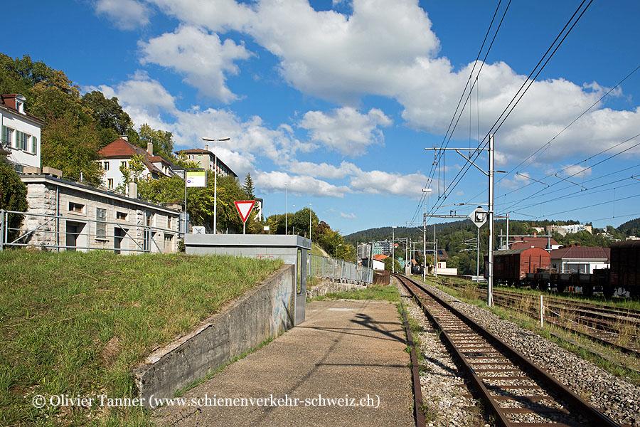 """Bahnhof """"Le Chalet NE"""""""
