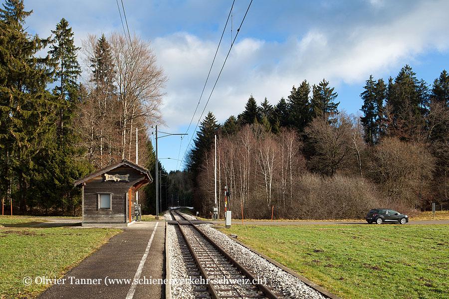 """Bahnhof """"Le Crêt"""""""