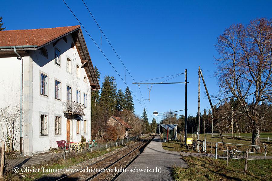 """Bahnhof """"Le Creux-des-Biches"""""""