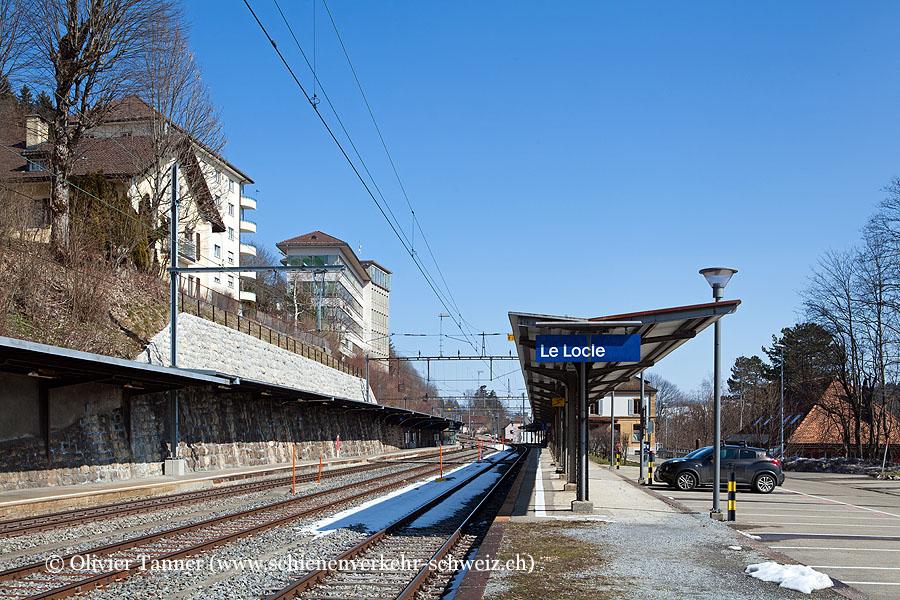 "Bahnhof ""Le Locle"""