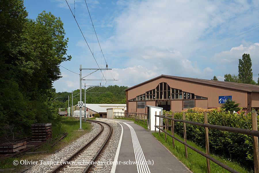 """Bahnhof """"Le Manège"""""""