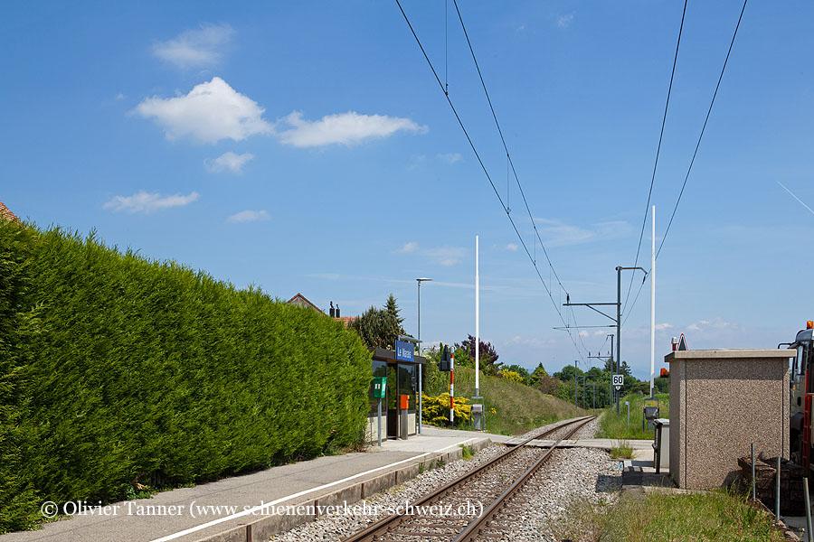"Bahnhof ""Le Marais"""