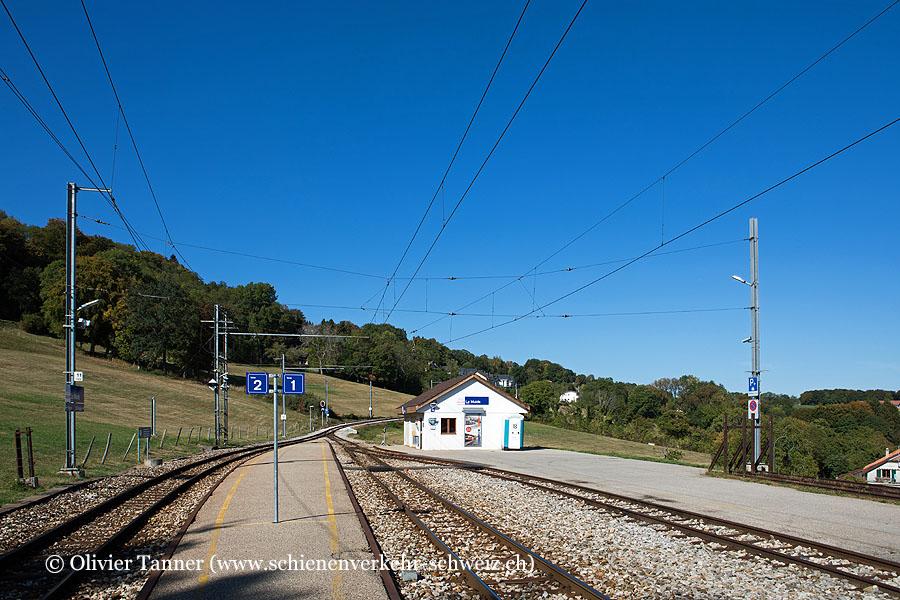 "Bahnhof ""Le Muids"""