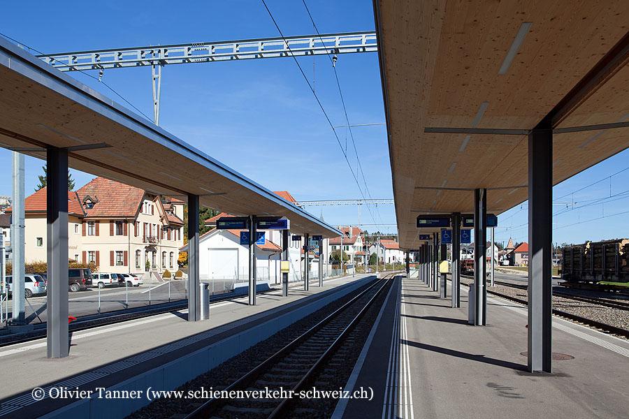 """Bahnhof """"Le Noirmont"""""""