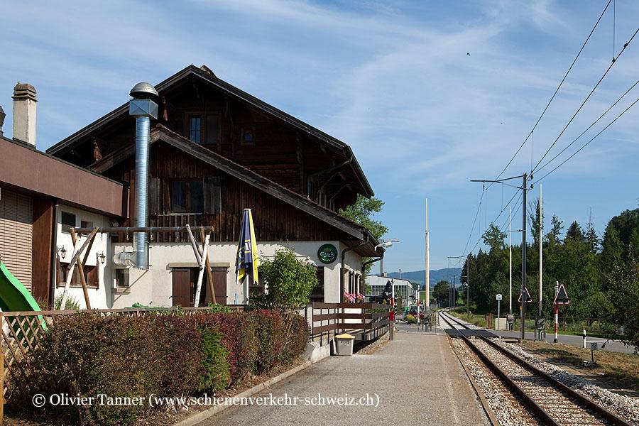 """Bahnhof """"Le Pâquier-Montbarry"""""""