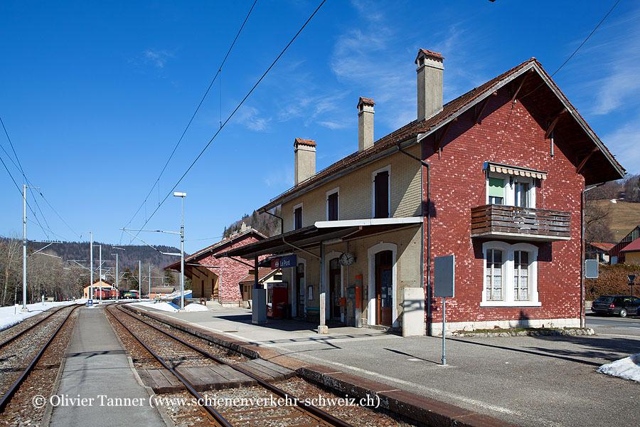 """Bahnhof """"Le Pont"""""""