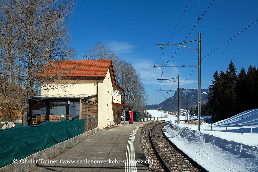 "Bahnhof ""Le Séchey"""