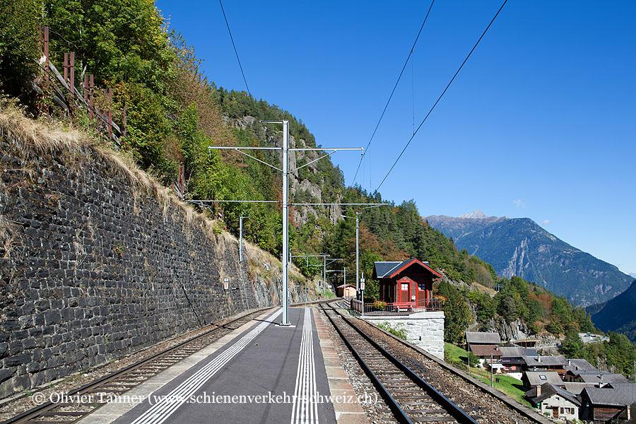 """Bahnhof """"Le Trétien"""""""